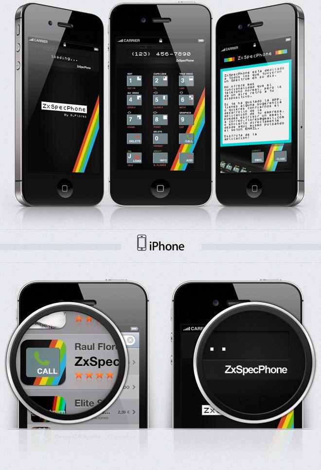 zxspecphone app