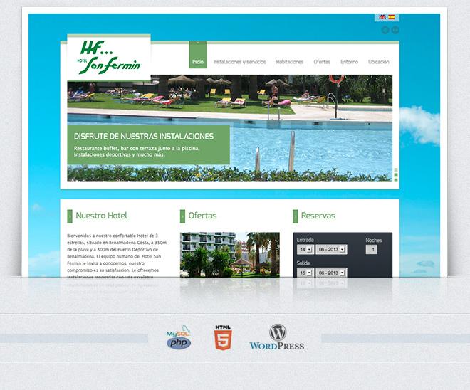 web hotel san fermin