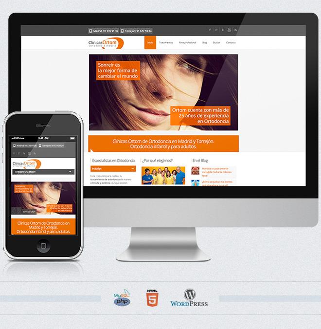 Web clínicas Ortom
